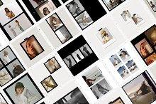 CANVA & PS / Fuji film frames by  in Social Media