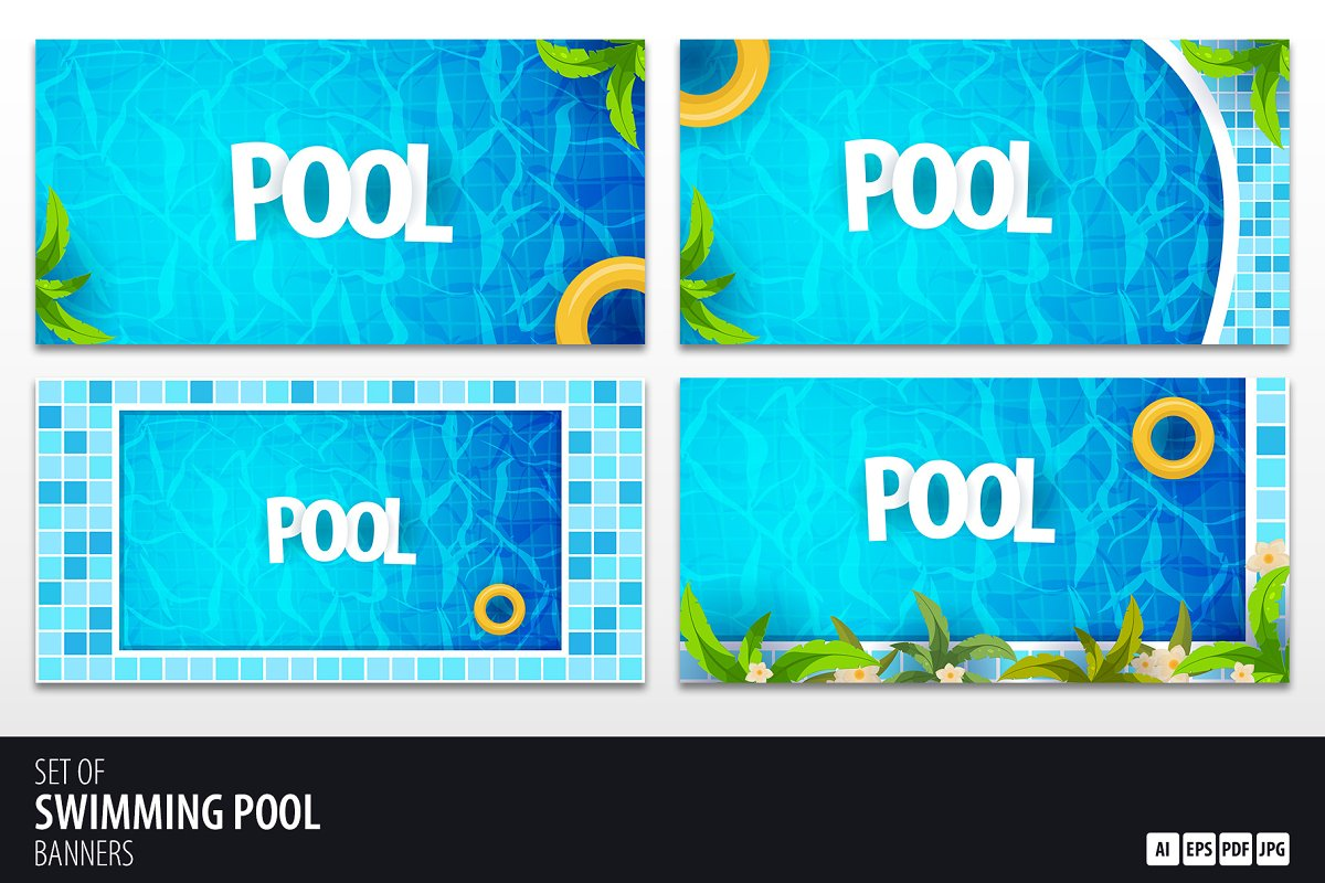 Swimming Pool banners