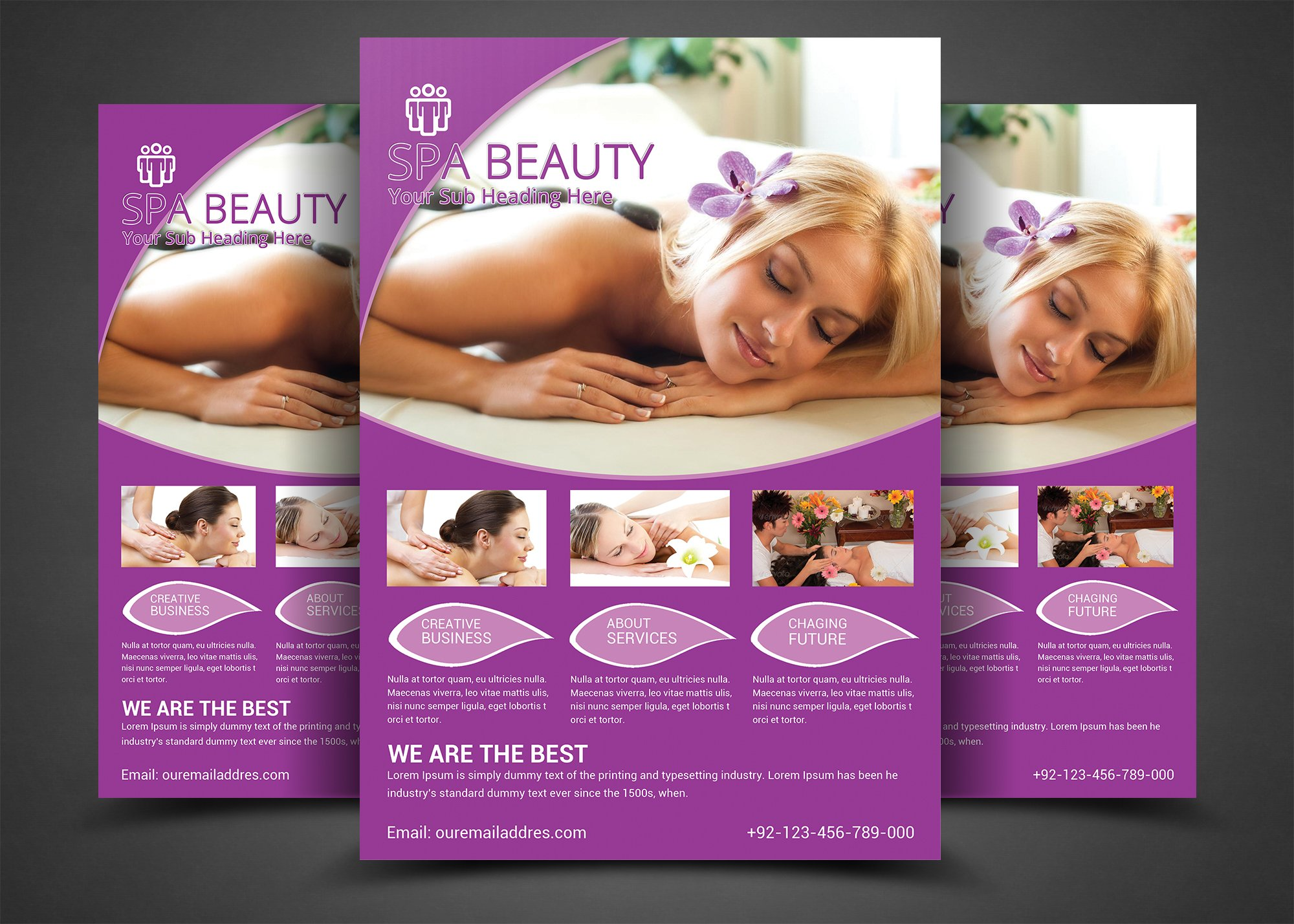 Free Medical Health Flyer Template