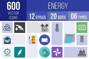 600 Energy Icons