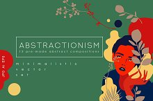 Abstractionism Graphic Set by  in Illustrations