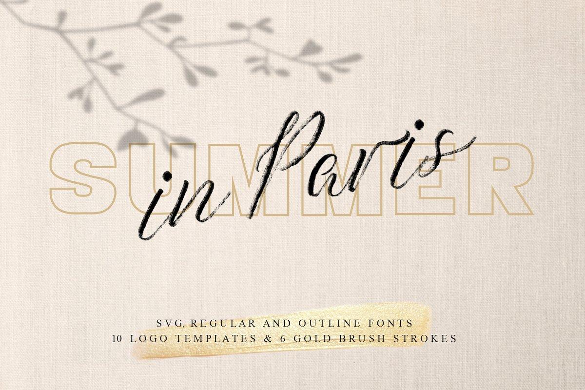 Summer in Paris Font Combination ~ Sans Serif Fonts