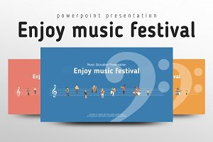 Enjoy music festival