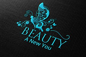 [40% OFF] Beauty & Elegance Logo