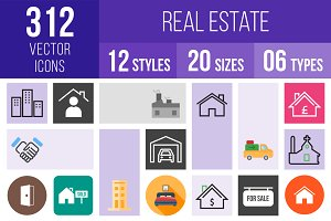 312 Real Estate Icons