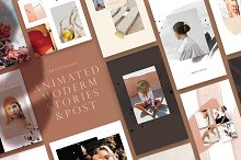 Modern Animated Stories & Post by  in Social Media