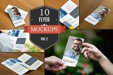 Beautiful Flyer Mockup PSDs Vol. 2
