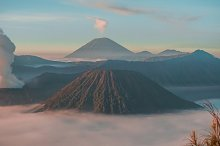 Bromo Mountain by  in Nature