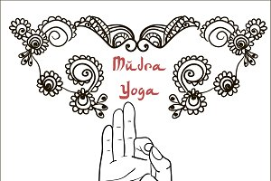 №41 Creative mudras and mehendi