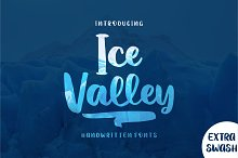 Ice Valley by  in Display Fonts
