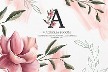 Magnolia bloom Collection by  in Illustrations