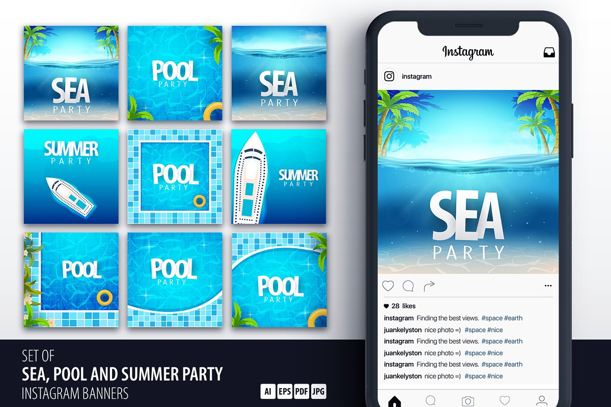 Sea, Pool and Summer Party