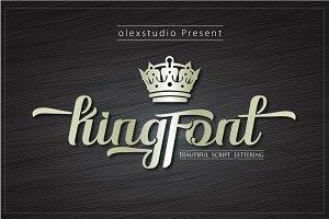 Kingfont Script
