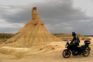 Travel with motorbike