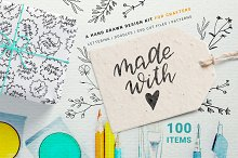 Made with Love - Set for Crafters by  in Objects