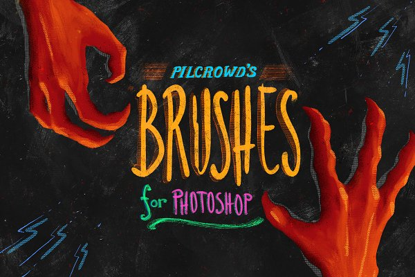 Pilcrowd's Brushes for Photoshop