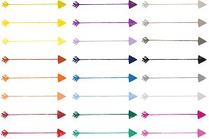 Arrows clipart commercial use