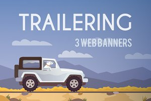 Trailering Travel Banners