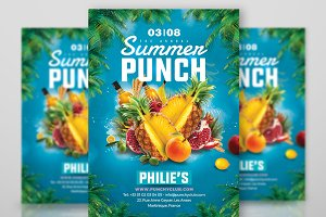 Summer Punch Flyer