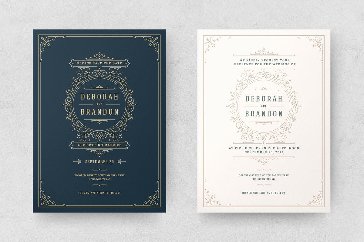 Wedding Invitations Cards Templates Wedding Templates Creative