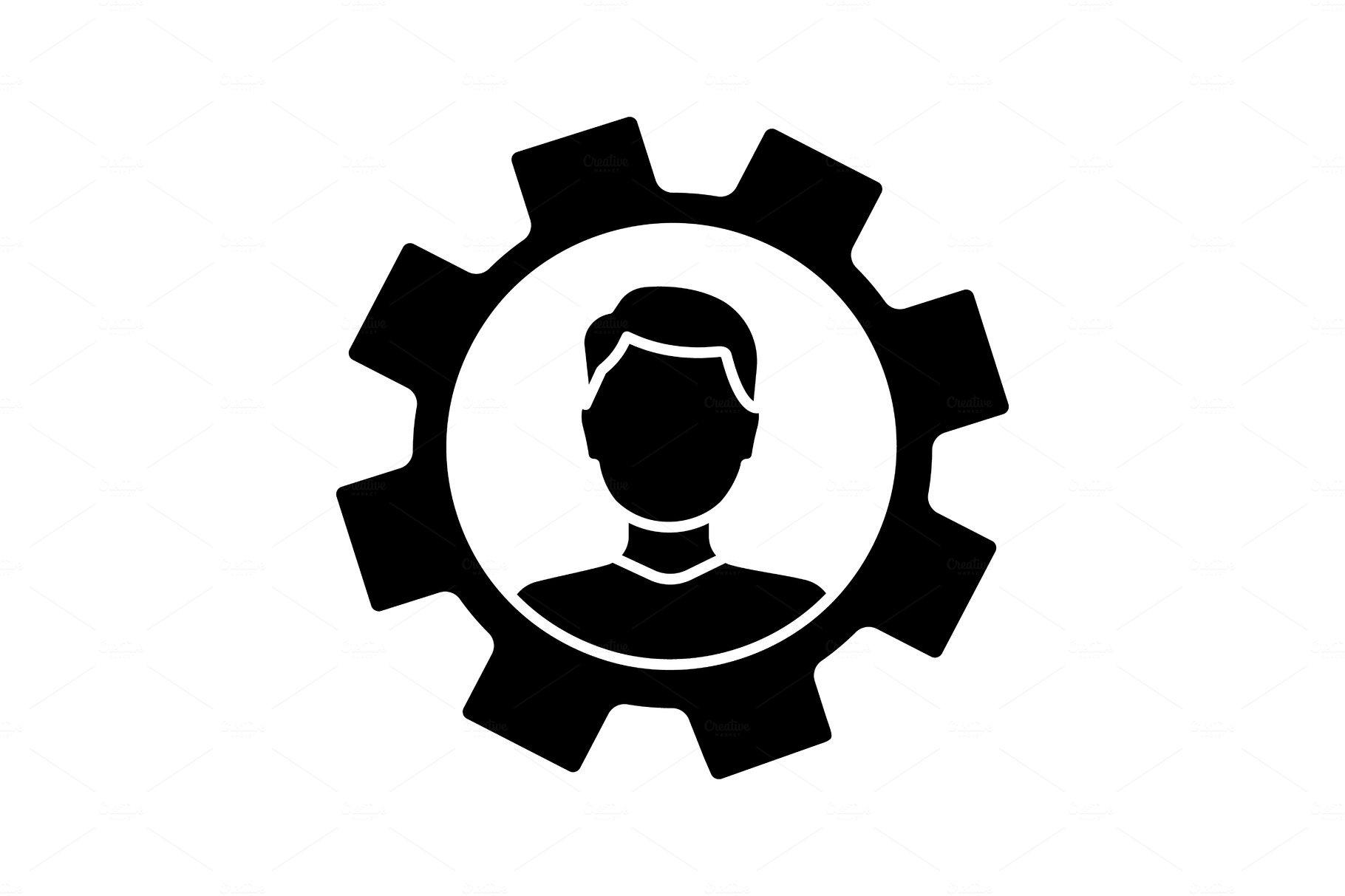 Professional skills glyph icon ~ Icons ~ Creative Market