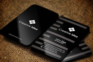 Creative Idea1 Business Card