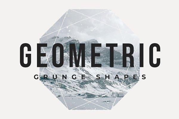 Graphics - Geometric Grunge Shapes