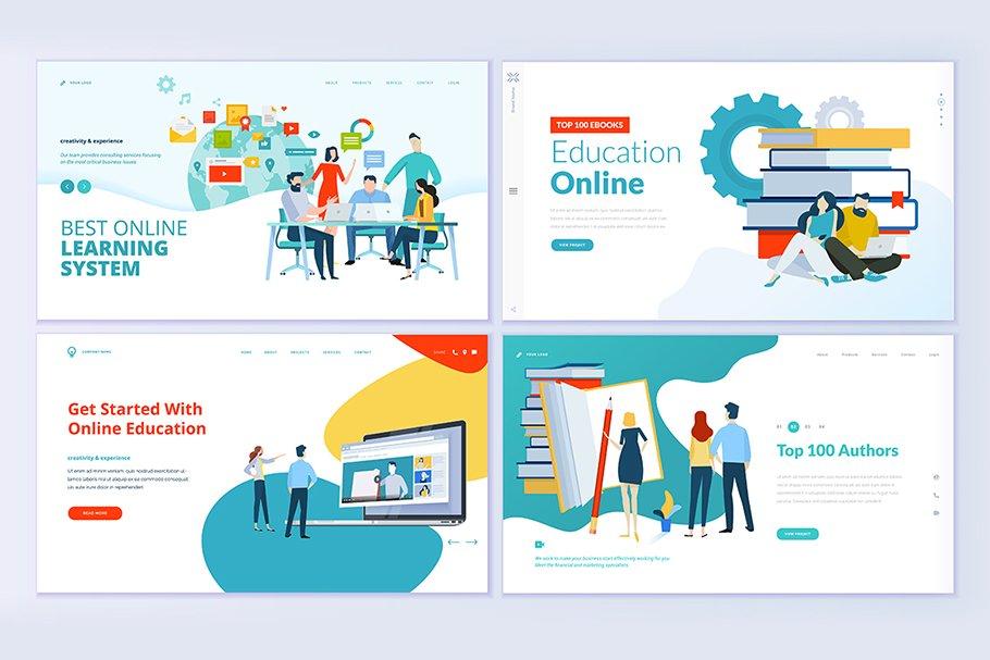 Web Design Templates for Education