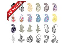 24 Items For Paisley Designs