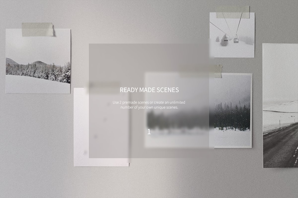 Mood Board Scene Creator in Scene Creator Mockups - product preview 8