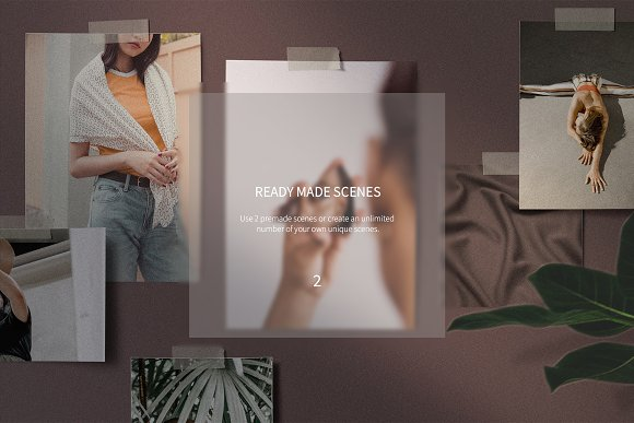 Mood Board Scene Creator in Scene Creator Mockups - product preview 1
