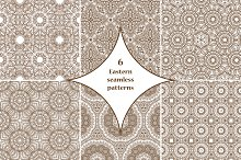 6 Eastern seamless patterns