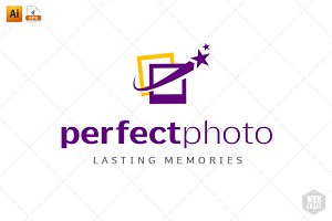 Perfect Photo Logo Template 4