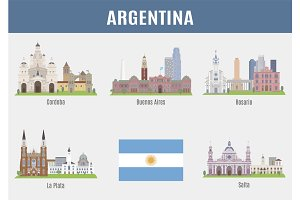 Cities in Argentina