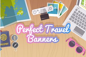 Perfect Travel  Banners