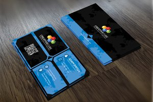 Modern Creative V3 Business Card