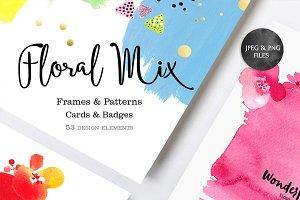 Floral Mix (Jpeg&PNG)