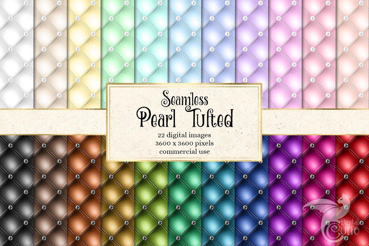 Pearl Tufted Digital Paper