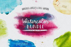 Watercolor Bundle Vol. 01