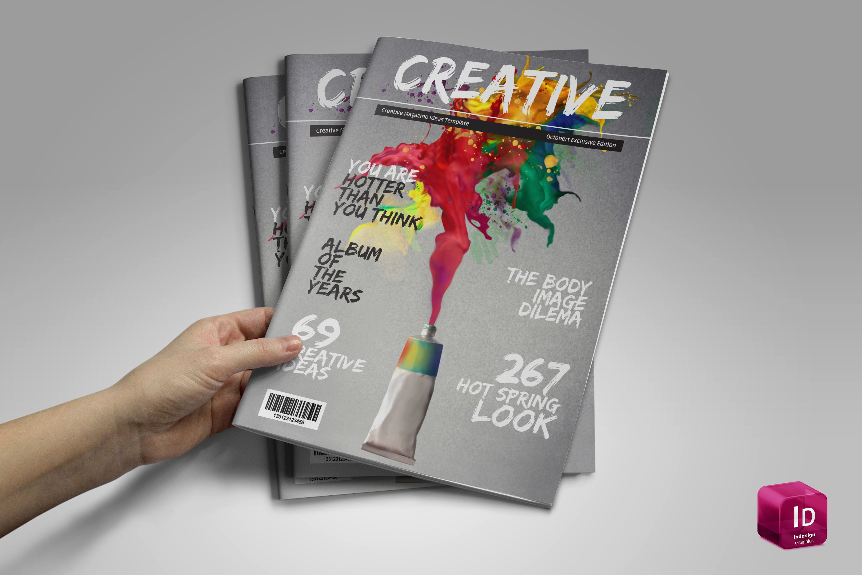 Creative Magazine Template Just 10 Magazine Templates