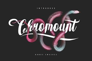 Chromount Script + Swashes