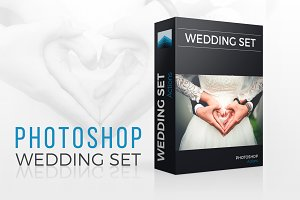 Wedding Photoshop actions set