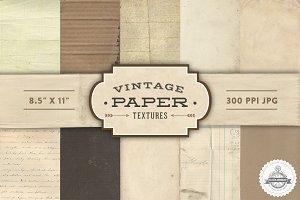 Vintage Paper Textures - No. 1