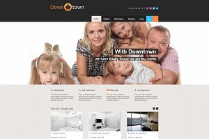Downtown - Real Estate WP Theme