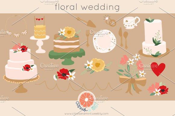 Wedding Clip Art .eps files - Illustrations