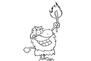 Caveman Character Collection Set