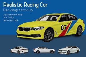 Racing Car Mock-Up