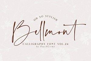 Bellmont// Stylish Font SALE!!!