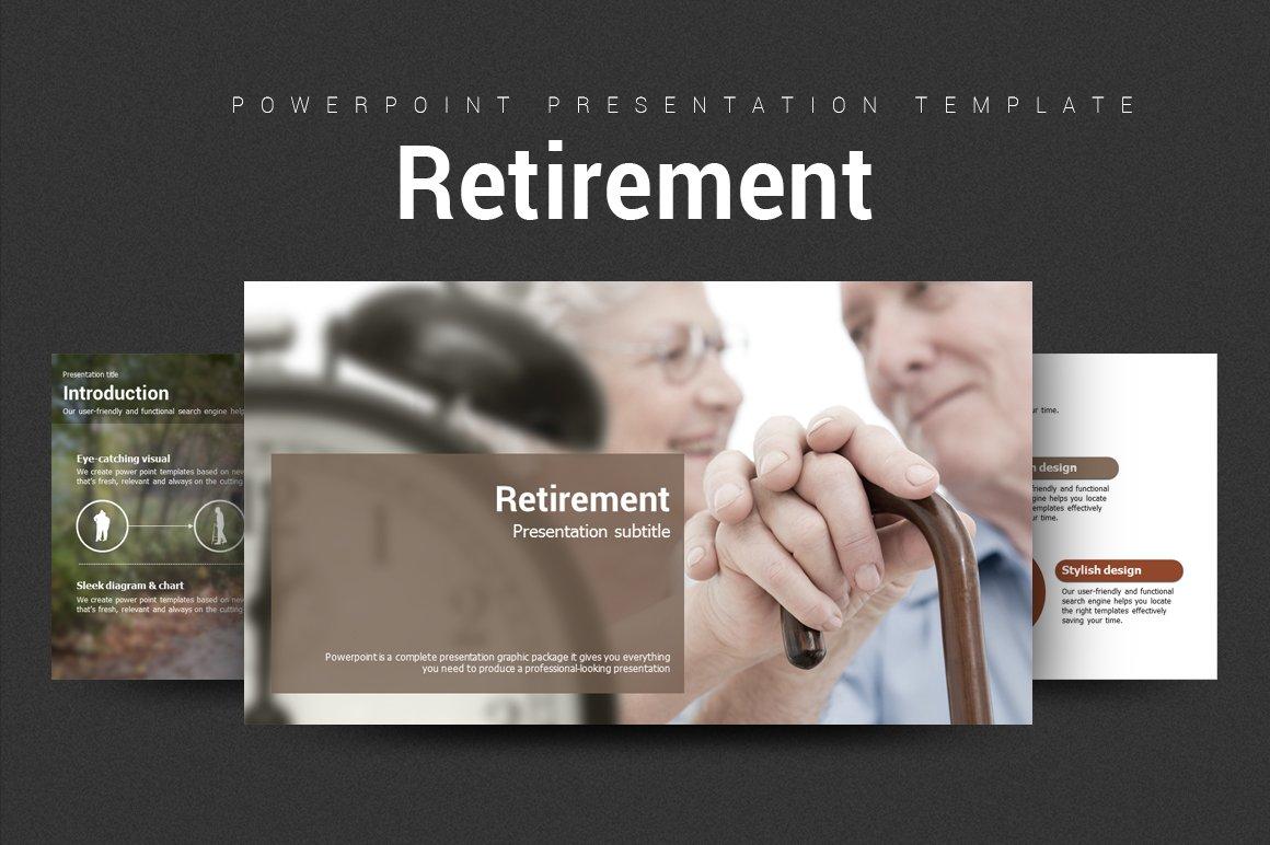 Retirement presentation templates creative market toneelgroepblik Images