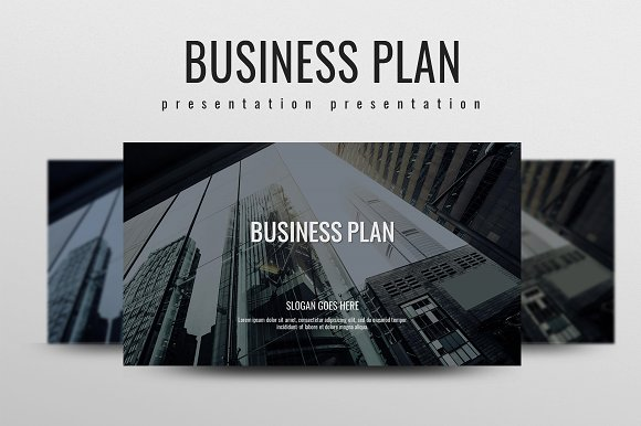 business plan presentation templates creative market